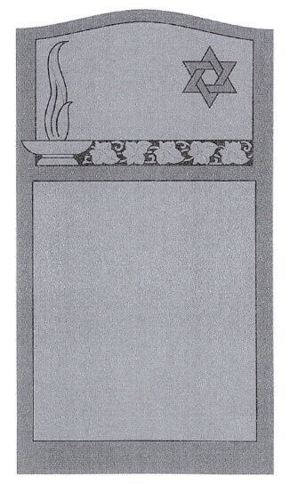 Single Headstone Sample Design D