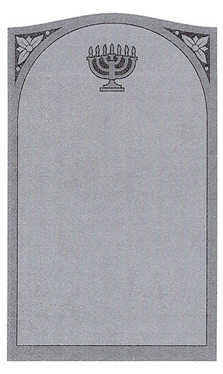 Single Headstone Sample Design I