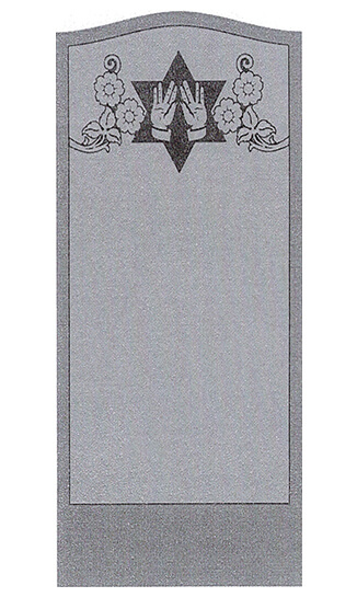 Single Headstone Sample Design L