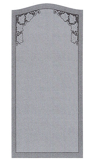 Single Headstone Sample Design M
